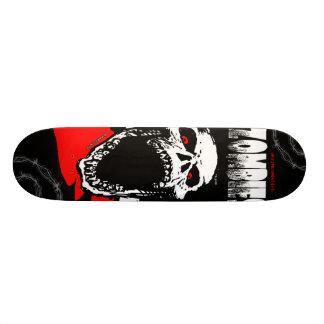 Het Skateboard van de Schedel van de zombie