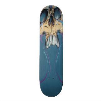 Het Skateboard van de Schedel van Graffiti