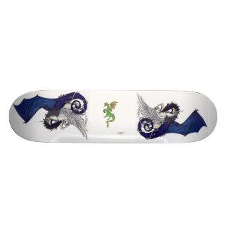 Het Skateboard van eenhoorns en van Draken
