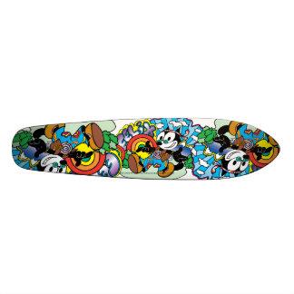 Het Skateboard van Felix van de hippie