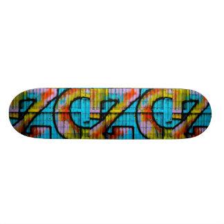 Het skateboard van Graffiti