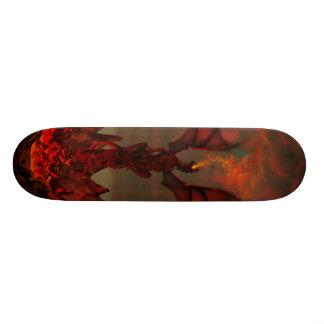 Het Skateboard van het Noodlot van de draak