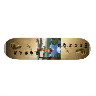 Het Skateboard van het Strand van de aap