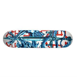Het Skateboard van het Zwaard van de draak