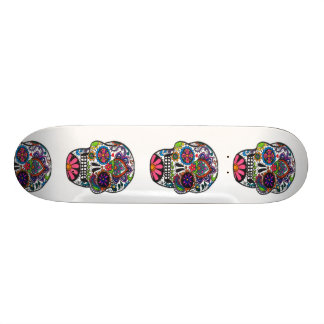 Het skateboarddek van de Schedel van de suiker 18,7 Cm Mini Skateboard Deck
