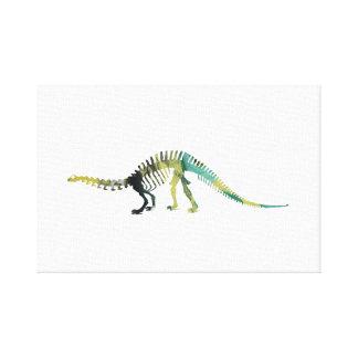 Het Skelet van de dinosaurus Canvas Print