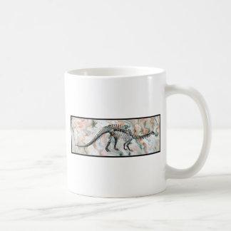 Het Skelet van de dinosaurus Koffiemok