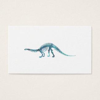 Het Skelet van de dinosaurus Visitekaartjes