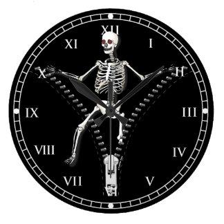 Het Skelet van de ritssluiting Muur Klokken