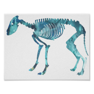 Het skelet van de wolf poster