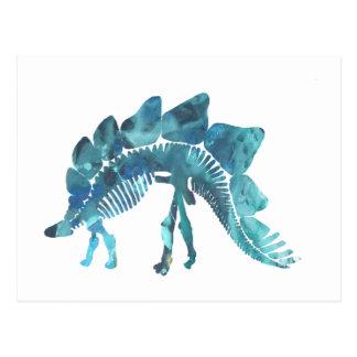 Het Skelet van Stegosaurus Briefkaart