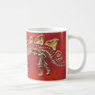 Het Skelet van Stegosaurus Koffiemok