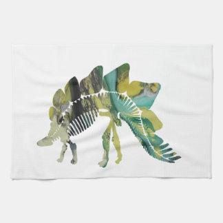 Het Skelet van Stegosaurus Theedoek