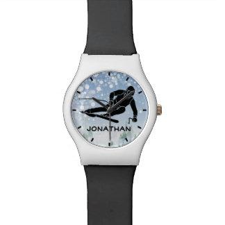 Het ski?en het Horloge van het Ontwerp