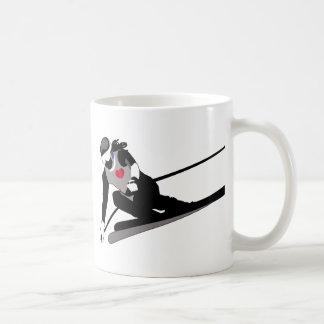 Het ski?en koffiemok