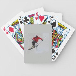 Het ski?en poker kaarten