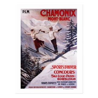 Het ski?en PromotiePoster Briefkaart