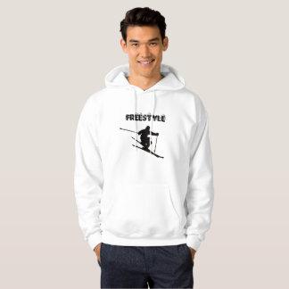 Het Ski?en van het vrije slag Overhemd Hoodie