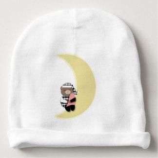 Het slapen draagt op Toenemende Maan Baby Mutsje