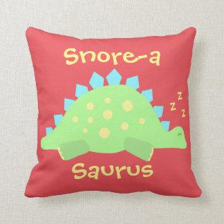 Het Slaperige Baby Stegosaurus van de kinder Sierkussen