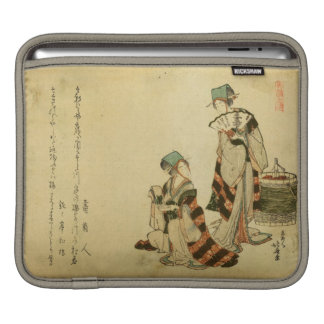 Het Sleeve van de Mus van Yoshiwara iPad iPad Sleeve