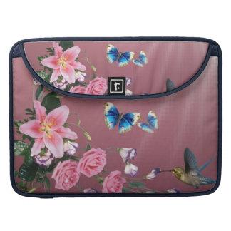 Het Sleeve van Macbook van de Vlinders van de MacBook Pro Sleeve