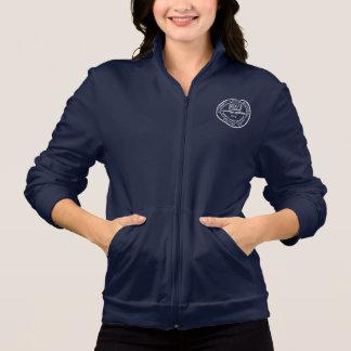 Het sleevesweatshirt van het Gazon van de kers Fleece Jas