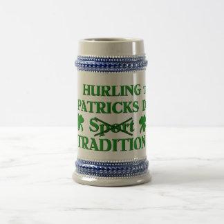 Het slingeren Traditie Bierpul