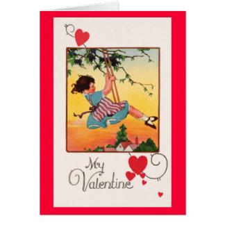 Het slingeren Valentijn Briefkaarten 0