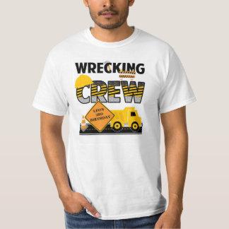 Het slopen van het Overhemd van de Bemanning, de T Shirt