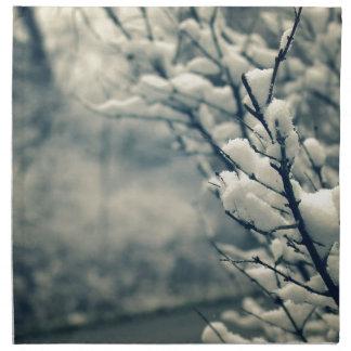 Het sneeuw Stootkussen van de Muis van de Boom Servet