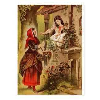 Het Sneeuwwitje van Fairytalesque- Briefkaart