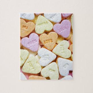 Het snoep van de liefde puzzel