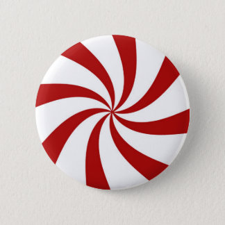 Het Snoep van de pepermunt - knoop Ronde Button 5,7 Cm