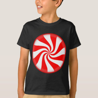 Het Snoep van de Pepermunt van Kerstmis T Shirt