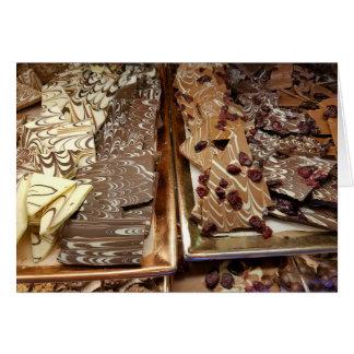 Het Snoep van de Schors van de chocolade, Kaart