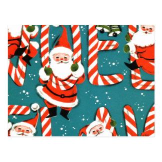 Het Snoep van Kerstmis Briefkaart