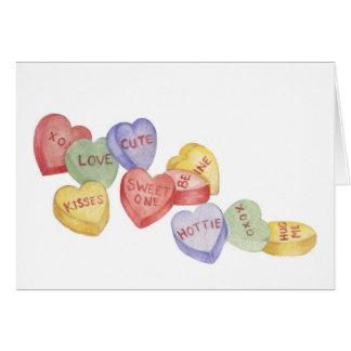 Het Snoep van Valentijn - de Kaart van Valentijn