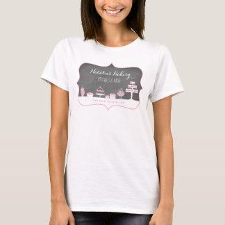 Het snoepje behandelt de Zaken van de Bakkerij van T Shirt