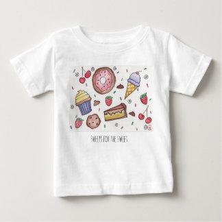 Het snoepje behandelt - Overhemd Baby T Shirts