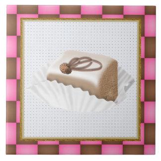 Het Snoepje van de cake behandelt tegel Tegeltje
