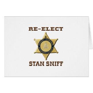 Het Snuifje van de sheriff Briefkaarten 0