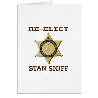 Het Snuifje van de sheriff Kaart