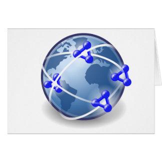 Het Sociale Netwerk van de wereld Kaart