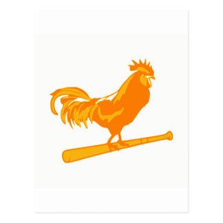 Het Softball van de Boerderij van de kip Briefkaart