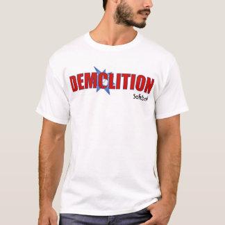 Het softballoverhemd van de vernieling t shirt