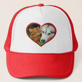 Het Somalische Hart van de Liefde van de Kat Trucker Pet