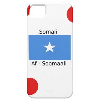 Het Somalische Taal en Ontwerp van de Vlag van Barely There iPhone 5 Hoesje