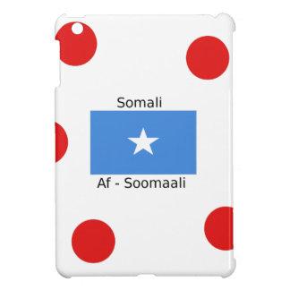 Het Somalische Taal en Ontwerp van de Vlag van iPad Mini Case