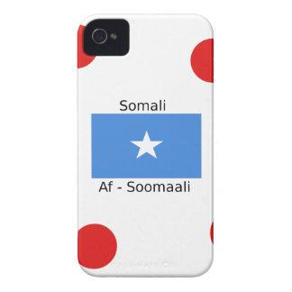 Het Somalische Taal en Ontwerp van de Vlag van iPhone 4 Hoesje
